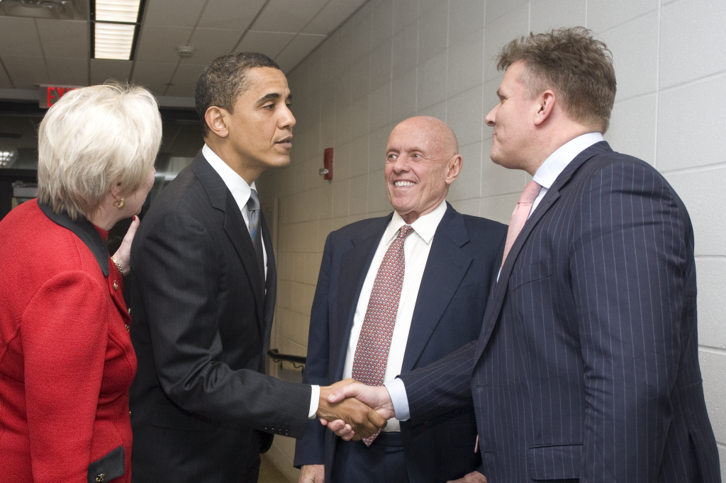 Nancy L. Zimper, President University of Cincinnati – Barack Obama – Stephen R. Covey – Robert Veenstra, Stenden University